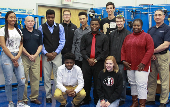 High School Is Where Manufacturing Careers Start in Delaware