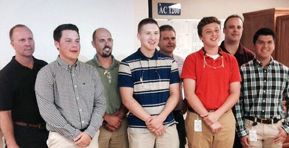 High School Students Gain Hands-on Experience in Manufacturing