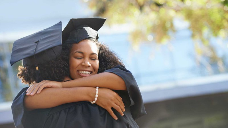 woman-hug-graduation